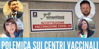 Polemica sui centri vaccinali