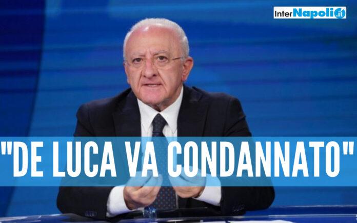 Appello Crescent: chiesti un anno e sei mesi per De Luca