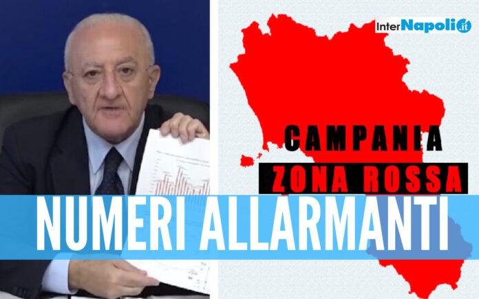 Campania resta zona rossa