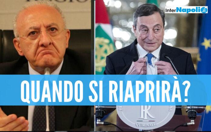 De Luca e Draghi