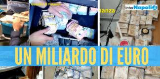 Sequestro di un miliardo di euro