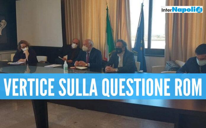 Vertice al Comune sulla questione rom