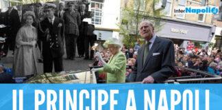 il principe Filippo regina Elisabetta Napoli