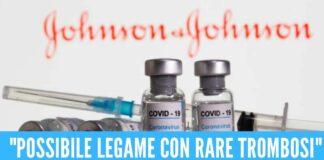 JOHNSON&JOHNSON Arriva l'ok dell'Ema per il vaccino Johnson&Johnson Benefici superano rischi