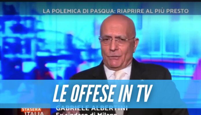 [Video] L'ex sindaco di Milano offende Napoli, gli insulti in diretta su Rete 4