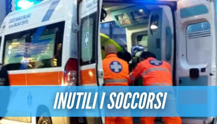 Tragedia in Campania, ragazzo di 24 anni muore dopo una caduta di 9 metri
