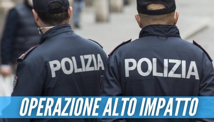 Operazioni 'Alto Impatto' a Napoli, multe e arresti per droga: controllate 200 persone