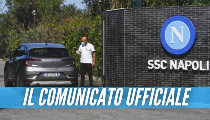 Juve-Napoli, nuovo caso di Covid nello staff azzurro: il comunicato