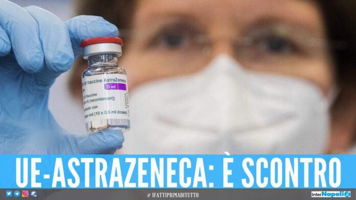 AstraZeneca, UE annuncia azione legale
