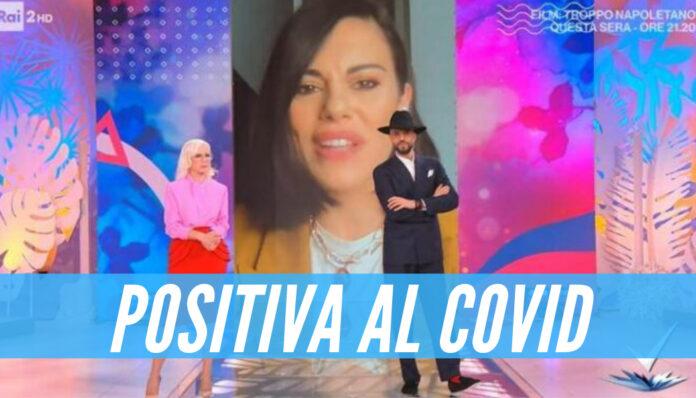 Bianca Guaccero positiva al covid