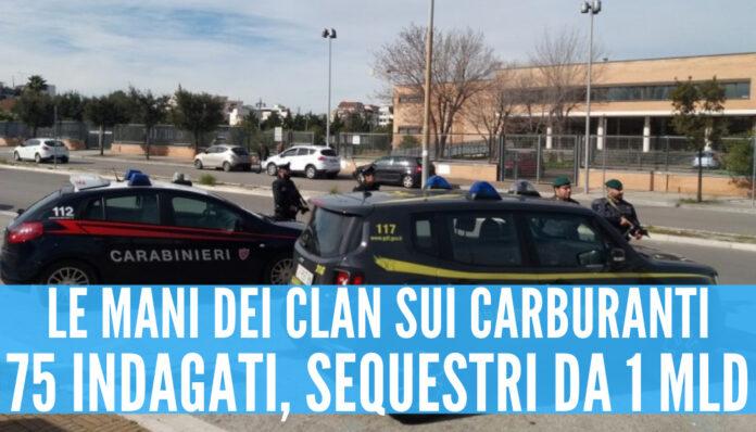 Blitz tra Napoli e Reggio Calabria: oltre 70 arresti, 1 mld di euro sotto chiave
