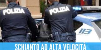 Schianto ad alta velocità, polizia arresta pusher