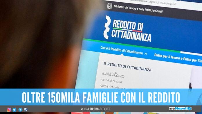 Reddito di cittadinanza, solo a Napoli la spesa sfiora quella di tutto il Nord: i dati Istat