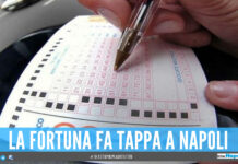 La Dea bendata bacia la provincia di Napoli, vinti oltre 100mila euro con un terno