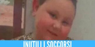 Lacrime per la piccola Giorgia, morta a 6 anni soffocata con una cotoletta