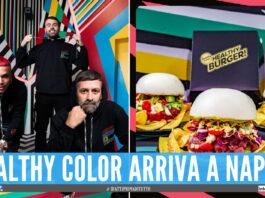 Andrea Petagna, Sfera Ebbasta e Marcelo Burlon aprono Healthy Color a Napoli
