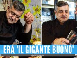 Mauro De Luca, inventore del panino Sciuè