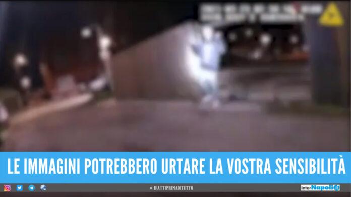 video polizia usa Chicago