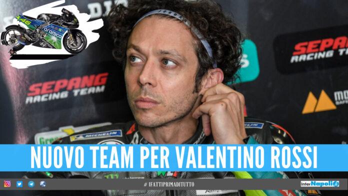 Nuovo team per Valentino Rossi, debutterà in MotoGP nel 2022