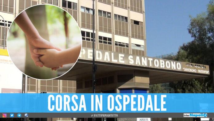 Bimbo investito a Napoli
