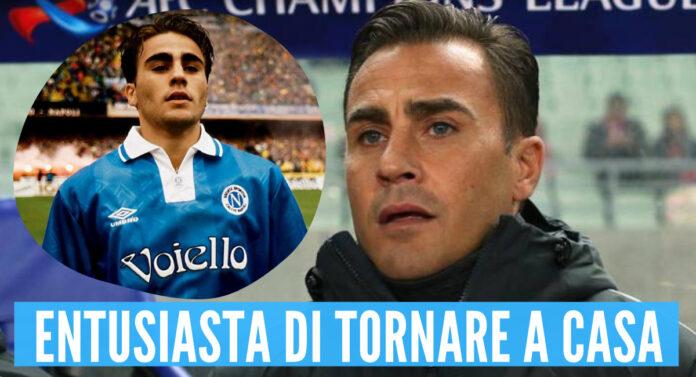 Fabio Cannavaro allenatore Napoli