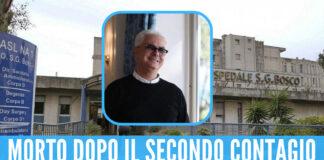Giovanni Cipullo, morto per il covid dopo la 'ricaduta'