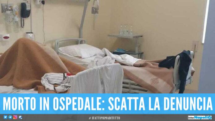 Pasquale morto in ospedale dopo una caduta, la denuncia della famiglia