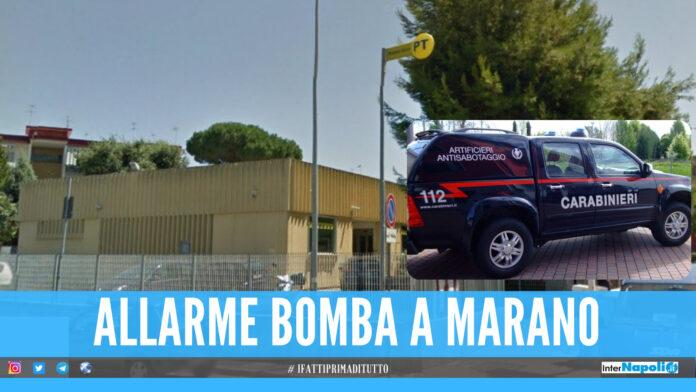 Allarme bomba a Marano