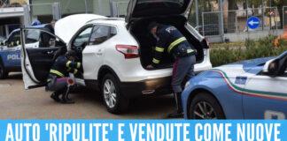 Auto a noleggio rubate e rivendute come nuove, la base nel Napoletano