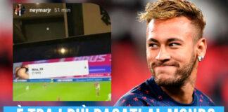 Neymar pezzotto Psg