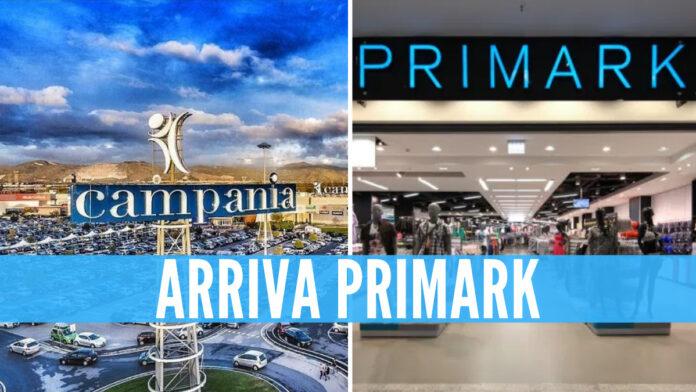 Primark apre al Centro Campania