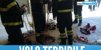 Ragazza di 20 anni cade nel pozzo, salvata dai pompieri di Aversa