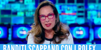 Paura per Cesara Buonamici, la giornalista di Canale 5 rapinata in strada insieme al marito