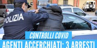 Poliziotti aggrediti: 3 arresti nel casertano