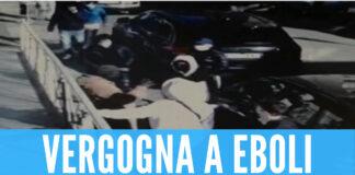 L'aggressione a Eboli