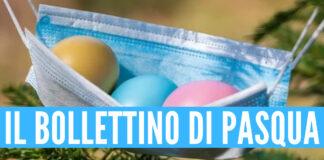 Il bollettino Covid di Pasqua in Campania