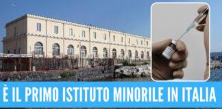 Vaccino Covid al carcere minorile di Nisida