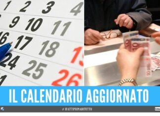 tredicesime calendario pensioni maggio