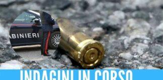 feriti minorenni carabinieri bossoli indagine clan contini