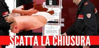 centro massaggi carabinieri chiuso napoli