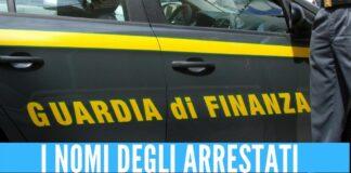 arresti finanza nomi antidroga operazione benevento napoli