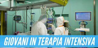 Campania, giovani in terapia intensiva