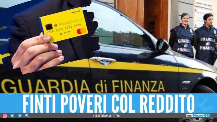 Finti poveri col reddito di cittadinanza e polizze false: 9 denunce a Napoli e provincia