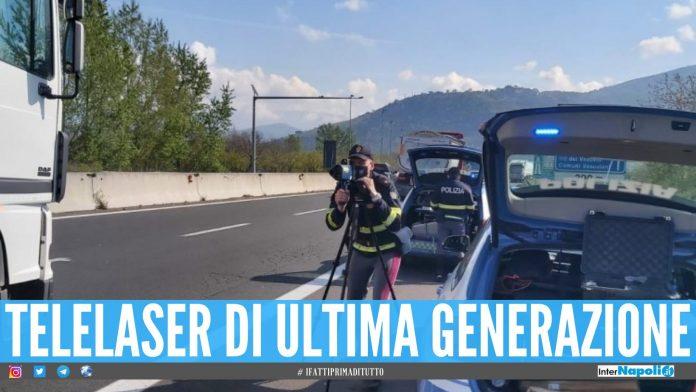 Polizia stradale in azione
