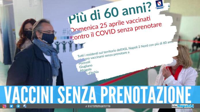 Vaccini senza prenotazione a Giugliano