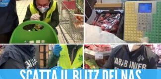 Virus nei supermercati, tracce di Covid su carrelli e Pos: negozi chiusi anche in Campania