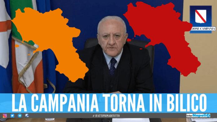 Campania in bilico