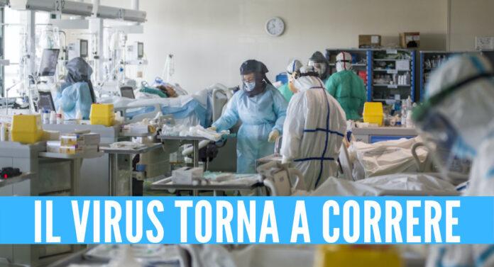 Covid, il virus torna a correre in Campania