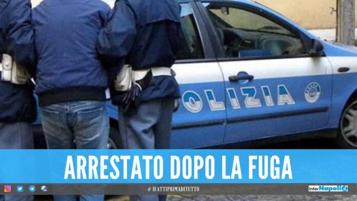 Rapina un cellulare e scappa, la polizia lo arresta dopo l'inseguimento al Centro Direzionale