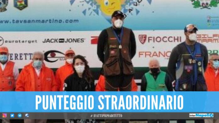 Carmine orgoglio di Acerra, l'atleta campione nazionale di tiro a volo